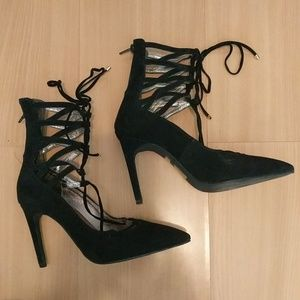Free People Shoes - ❗SALE❗ Jeffrey Campbell Free People lace up heels